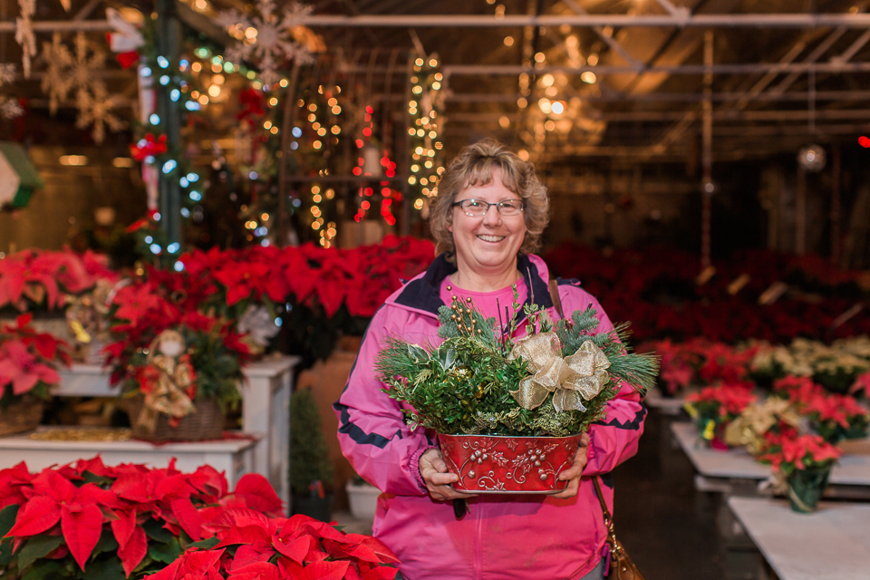 Christmas Baskets Greens Toledo Whiteford Greenhouse-13