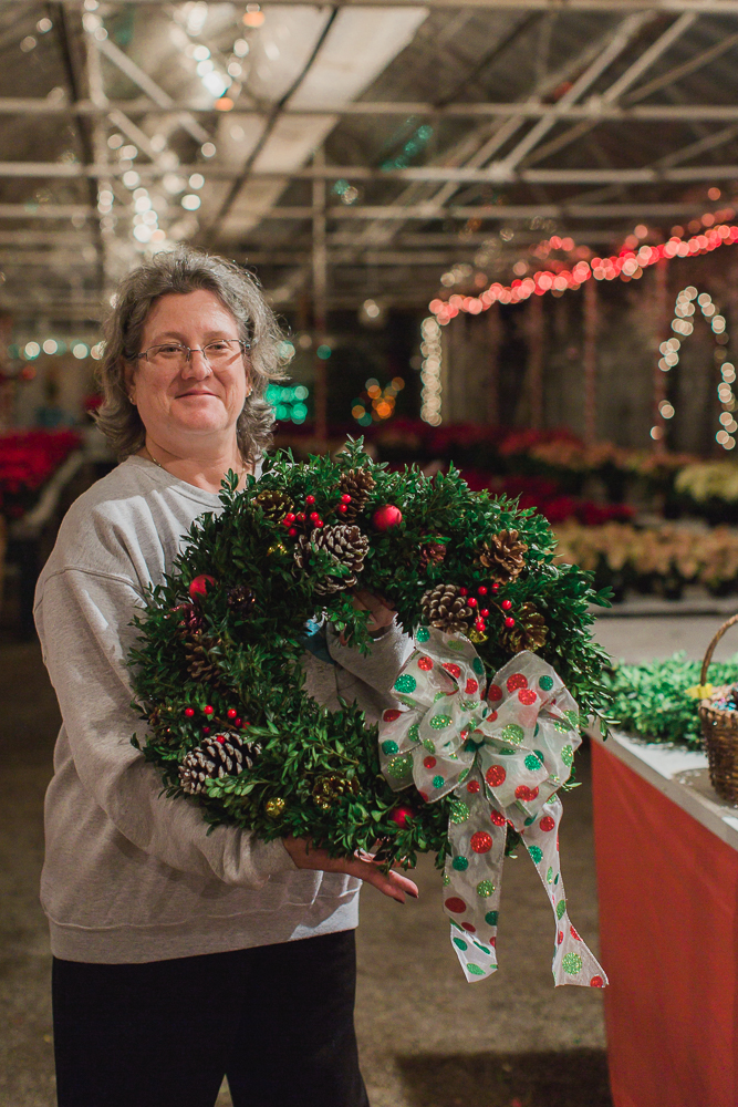 Toledo Wreath Making Workshop Whiteford Greenhouse-3